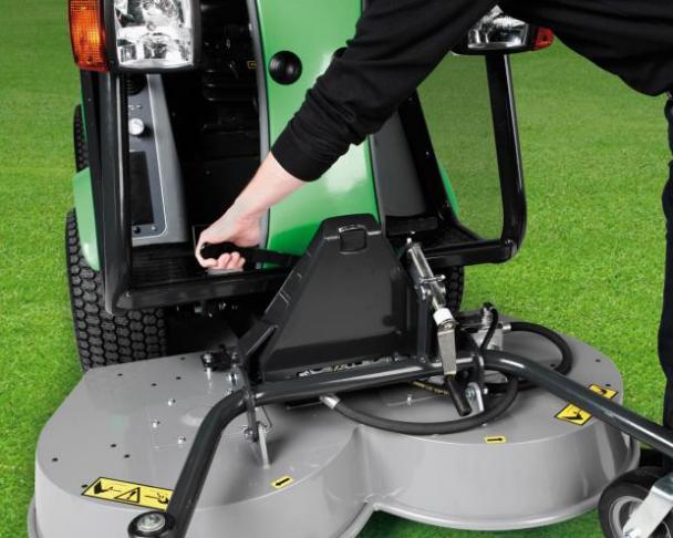 Egholm City Ranger Anbau der Arbeitsgeräte
