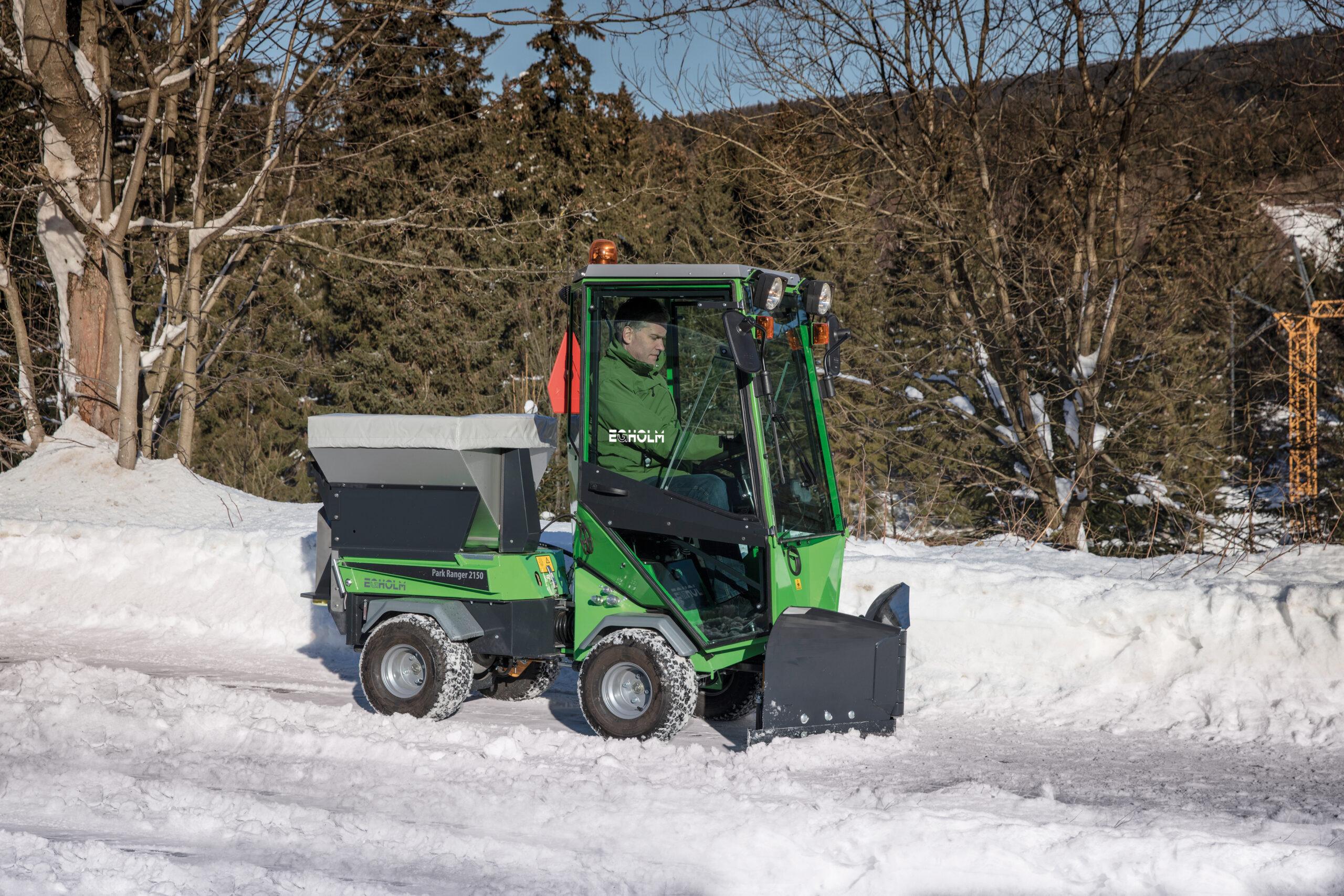Egholm Park Ranger 2150 Winteraktion